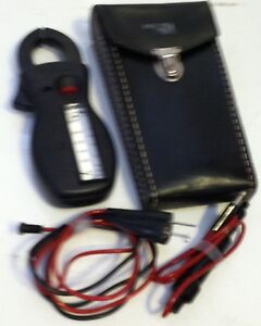 Amprobe Analog Multimeter Clamp Type Rs3 Leads Case