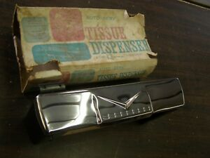 Nos Oem Auto Serve Tissue Dispenser Ford Chevrolet Cadillac 1956 1957 1958 1959