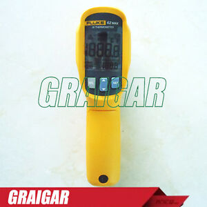 Fluke 62 Max Laser Infrared Ir Non contact Digital Thermometer F62 Max