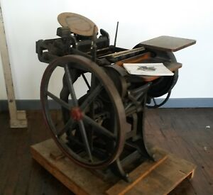 Chandler Price Printing Press Early 1900 s