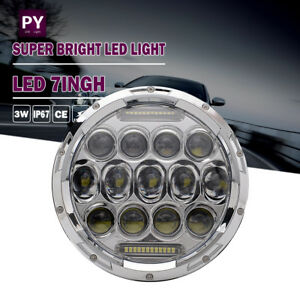 7 Motorcycle Projector Hid Led Light Bulb Headlight For Harley Touring 94 13 13