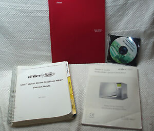 Lisa Adec Mb 17 Steam Sterilizer Autoclave Service owners repair Books look