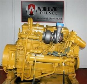 1987 Cat 3406b Diesel Engine 350 Hp All Complete And Run Tested