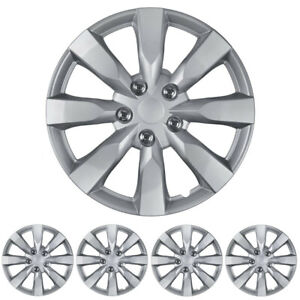 16 Chrome Replacement Hubcaps Oem Replica Snap On Wheel Cover Hub Caps 4 Pack
