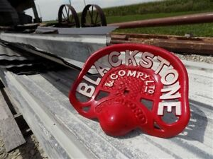 Cast Iron Tractor Seat Country Farm Implement Sign Fit John Deere Blackstone A40