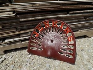 Cast Iron Tractor Seat Country Farm Implement Sign Fits John Deere Jenkins A38