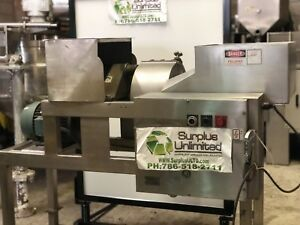 Urschel Model Hs a food Slicer Stainless Steel