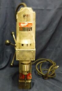 Milwaukee Magnetic Electromagnetic Drill Press 4203 Base 4292 1 Drill Motor