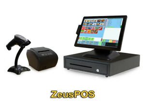 Retail Point Of Sale System Zeus Pos Hardware Bundle
