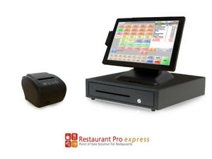 Restaurant Point Of Sale System Restaurant Pro Express Pos Hardware Bundle