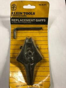 Klein Tools 07 Tree Climbing Gaffs Cat No 07 Replacement New Old Stock