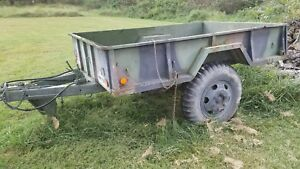 Military Trailer M105 Army Surplus Heavy Duty