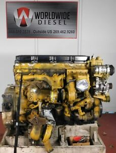 Cat C13 Kcb Diesel Engine Take Out 525 Hp Turns 360 Good For Rebuild Only