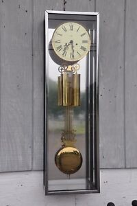 Mid Century Modern George Nelson For Howard Miller 622 522 Wall Stand Clock