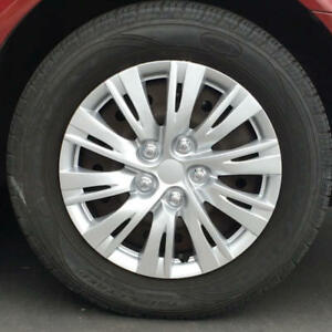 16 Inch Sporty Silver Hubcaps Oem Replacement Car Wheel Covers 4 Pack