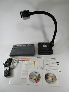 Avermedia Avervision F50 Portable Overhead Projector Bundle Clean Nice