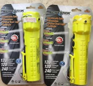 Flashlight Nightstick 2 Pack Xpp 5422g Intrinsically Safe Permissible Dual Light