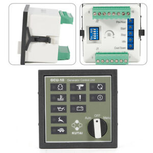 Generator Control Unit Waterproof Front Panel With Uv Protection Gcu 10 Unit