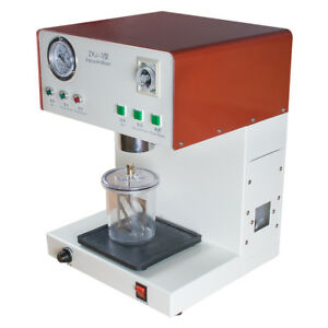 New Adjustable Dental Lab Vacuum Mixer Mixing Machine With Built in Pump
