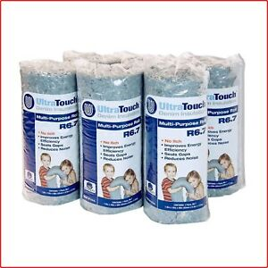 Denim Insulation Multi Purpose Roll 16 X 48 In Unfaced 6 Pack Formaldehyde Free