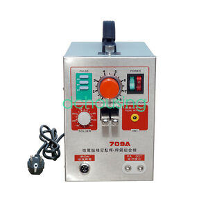 2 In 1 1 9kw 60a Spot Welder Soldering Iron Station Battery Welding Machine 709a