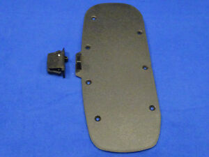 98 99 00 Ford Mustang 2 Piece Console Base Lid Repair Kit 1998 1999 2000