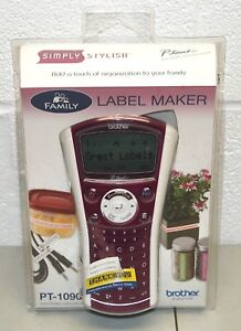 New Electronic Labeling System Label Maker Family P touch Brother pt 1090