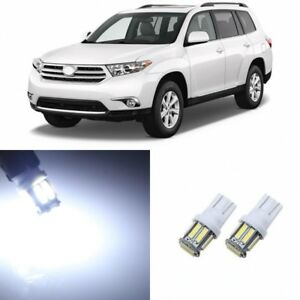 14 X Super Bright Led Interior Kit Lights For 2008 2013 Toyota Highlander Tool