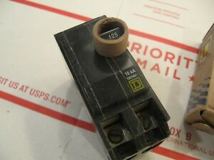 New Square D Qo2125 125 Amp Circuit Breaker