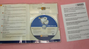 Sirona Cerec Inlab Software Version 4 2 Usb Dongle Dvd With Case Serial