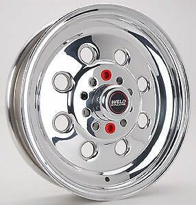 15x5 Weld Racing Draglite Drag Wheel 5x4 5 5x4 75 3 5 bs W 90 55346