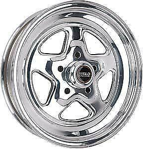 15x3 5 Weld Racing Pro Star Drag Wheel 5x4 75 1 375 Bs W 96 54270 Prostar