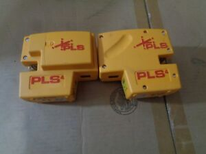 Pacific Laser Systems Pls4 Tool Point Lot Of 2 one Missing Cover