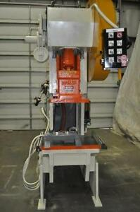 60 Ton Niagara Obi Stamping Press M 60 Serial 46073 6 Stroke 21 X 16 Ram