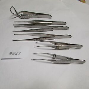 Weck Trylon Mueller Ophthalmic Instruments Lot Of 6