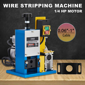 Portable Scrap Cable Stripper Wire Stripping Machine For Scrap Copper Recycling