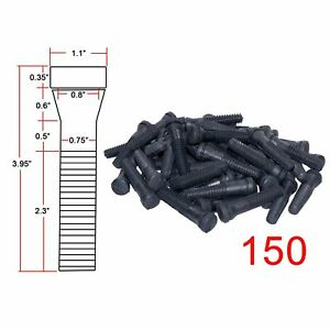 150 Pcs Rss3 Rubber Heavy Duty Chicken Poultry Plucker Fingers Duck Fingers New