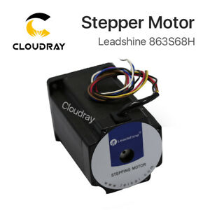 Leadshine 3 phase Digital Stepper Motor 863s68h For Y Axis Of The Cutting Bed