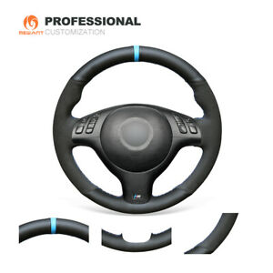 Custom Hand Sew Steering Wheel Cover For Bmw E46 E39 540i 330i 525i M3 2001 2003
