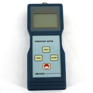 New Portable Vm 6320 Digital Vibration Tester Meter Vibrometer