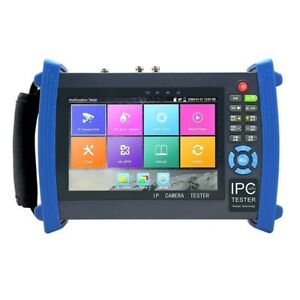 Ipc 8600adh Plus 7 Screen Ip Tvi Cvi Ahd Cctv Camera Tester 4k H 265 Wifi Hdmi