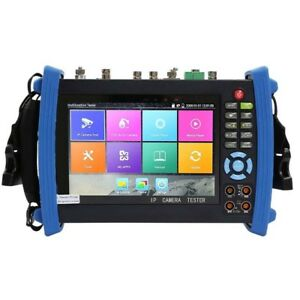 Ipc 8600movtadhs Plus 7 Screen Full Configuration Cctv Camera Tester 4k H 265