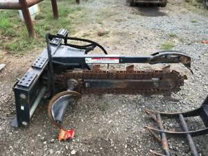 2016 Bobcat Lt313 Skidsteer Trencher Attachment