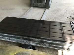 88 X 42 X 9 Steel Welding T slotted Table Cast Iron Layout Plate