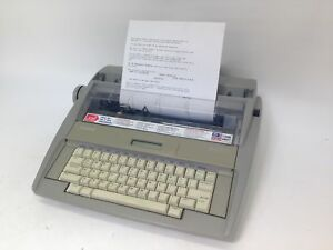 Brother Sx 4000 Electronic Typewriter Great Used Condition With Clear Printing