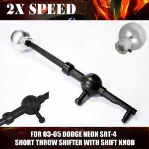 New Short Throw Shifter With Shift Knob For 03 05 Dodge Neon Srt 4 Performance