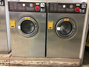 Wascomat 30lb Senior Washer W124 Stainless Steel 2 X 3 Phase 1 Single Phase
