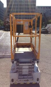 Hy brid Hb1430 14 Electric Scissor Man Lift Aerial Platform 20 Work Height