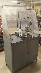 Deckel So Tool Cutter Grinder W Cabinet And Lots Of Extras