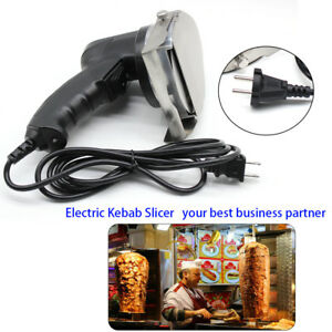 Electric Shawarma Doner Meat Knife Pro Kebab Slicer Gyros Carver Gyro Cutter